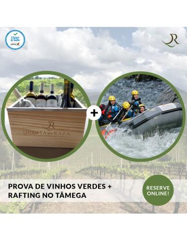 Wine tasting + Rafting on the Tâmega...