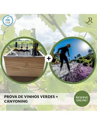 Wine tasting + Canyoning